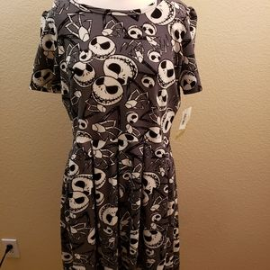 LuLaRoe Amelia dress size XL Disney